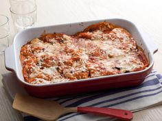 Enchilada Lasagna Recipe : Alton Brown : Food Network - FoodNetwork.com