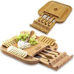 Malvern Bamboo Cheese Board Set,China Wholesale Malvern Bamboo Cheese Board Set