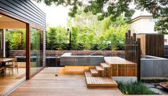 Naroon modern backyard project by Signature Landscapes, COS Design and Serenity Pools (2)