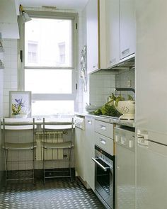 Check Out 28 Elegant Small Kitchen Design Ideas. We all know how hard is to cook on a small kitchen.