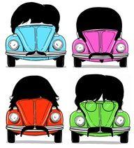 The Beatles as Beetles!!!  Love it!