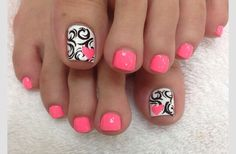 Cute Summer Toes