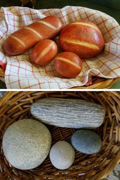 24 Painted Rocks that Look Good Enough to Eat! Stone Art Painting, Pebble Painting, Pebble Art, Stone Crafts, Rock Crafts, Diy Arts And Crafts, Painted Rocks Craft, Hand Painted Rocks, Painted Pebbles