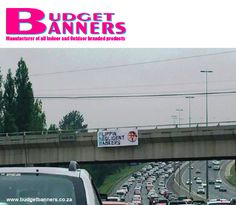 """Did you see the angry FNB customer that has sparked a social media storm after displaying a banner declaring the institution to be """"Flippen Negligent Bankers"""" over a Johannesburg highway Advertising Fails, Banner, Social Media, Outdoor, Social Networks, Outdoor Games, The Great Outdoors, Garden, Social Media Tips"""