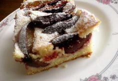 Fahéjas-szilvás vajas pite Hungarian Desserts, Hungarian Cake, Hungarian Recipes, Hungarian Food, Drink Recipe Book, Tasty, Yummy Food, Winter Food, Cake Cookies