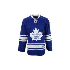 Toronto Maple Leafs NHL Men's Premier Jersey ($130) ❤ liked on Polyvore featuring men's fashion