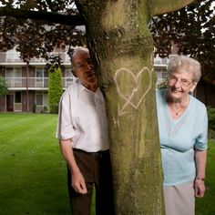 Did you ever carve a heart in a tree? The tree will with stand time and so can true love.