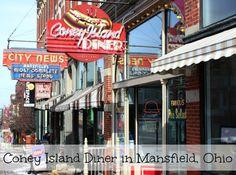 Coney Island Diner Mansfield, Ohio