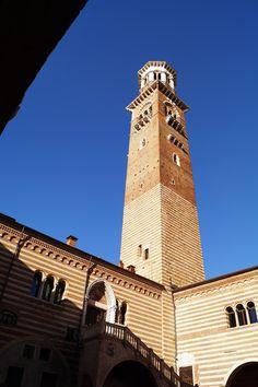 Torre dei Lamberti, Verona, Italy Verona Italy, San Francisco Ferry, Building, Travel, Viajes, Buildings, Destinations, Traveling, Trips