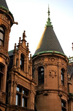 Beacon Hill - Boston.  Architectural features!