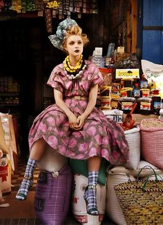 Patrick Demarchelier for British Vogue