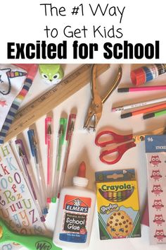 Get your kids excited and ready for Back to School with this #1 trick to ease school anxiety. www.coffeeandcarpool.com