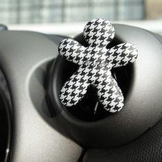 NIKI – vůně do auta Black Orchid, černobílá