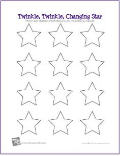 Twinkle, Twinkle, Changing Star | Listening Lesson Worksheet - Students learn theme and variations form by listening to Ah, vous dirai je, maman by Wolfgang Amadeus Mozart, and by completing the following worksheet.