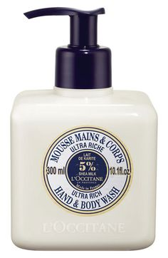 L'Occitane Shea Butter Ultra Rich Hand & Body Wash, Nordstrom