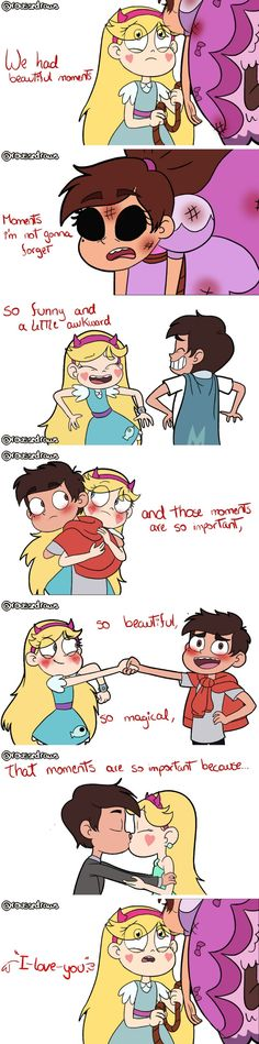 [roussedraws] starco moments are the best moments