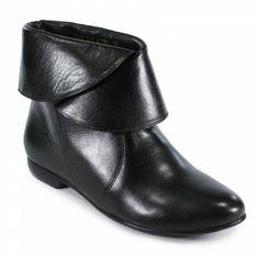 Ankle boot rasteira preto MTI15770240