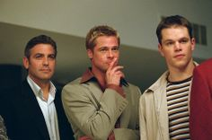 George. Brad. Matt. What mom really wants for #MothersDay - Three of a kind. #Oceans11 #OceansTrilogyCollection #GeorgeClooney #BradPitt #MattDamon