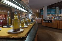 There are so many different kinds of oils to choose from. You will be surprised by the variety you can find. #valentinimperialmaya #oils Mar & tierra #buffet #food