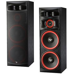 Cerwin-Vega XLS-215 Tower Speaker From the clubs to the home. Cervin-Vegas speakers hit hard and sound amazing.