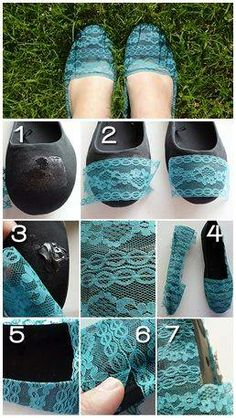 #Lace and Flats Revamp