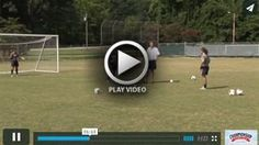 Goalkeepers Smother Drill - Chris Ducar - Univ. of NC [VIDEO] - Assistant Coach Chris Ducar explains and players demonstrate the In Your Face Drill