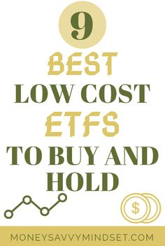 Best low cost ETFs to buy that have the lowest expense ratios. Keep more of your portfolio in your pocket by paying less in expenses. Value Investing, Investing Money, Saving Money, Dave Ramsey Investing, Fund Management, Dividend Investing, Dividend Stocks, Financial Success, Financial Planning