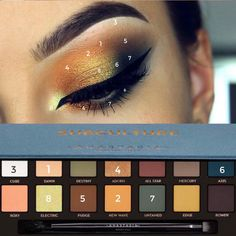A quick easy place to find: gifs, photos, and videos of eyelooks made by your favorite palettes. Eye Makeup Steps, Eye Makeup Art, Fall Makeup, Smokey Eye Makeup, Skin Makeup, Eyeshadow Makeup, Beauty Makeup, Smoky Eye, Eyeshadows