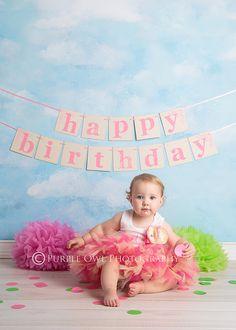 Sweet 1st Birthday Baby Tutu Dress by StrawberrieRose on Etsy, $79.95