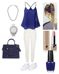 """The look summer ☀️"" by loulou-leilou on Polyvore featuring mode, River Island, Michael Kors, New Look, Marc Jacobs et OPI"