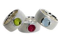 Ringe aus Sterlingsilber mit Peridot, blauem Topas und rosa Turmalin Sterlingsilber, Peridot, Gold, Gemstone Rings, Gemstones, Jewelry, Fashion, Pink Tourmaline, Blue Topaz