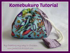 Creating my way to Success: Komebukuro - Traditional Japanese Rice Bag - a tut...