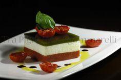 Viva il Pomodoro! La Fiammante Contest 2013 - blog Tra pignatte e sgommarelli - Bavarese di insalata caprese