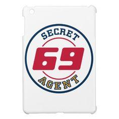 Secret Agent 69 Cover For The iPad Mini