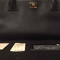 d76b168b197e99 CHANEL Cerf Executive Tote -Black caviar - Mercari: Anyone can buy & sell  Caviar