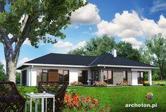 Projekt domu Tamara - atrakcyjny i przestronny dom parterowy