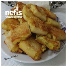 Çıtır Çıtır Patatesli Tava Böreği (Kesinlikle denemelisiniz :))
