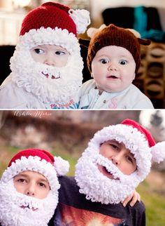 Crochet Santa Hats Free Pattern