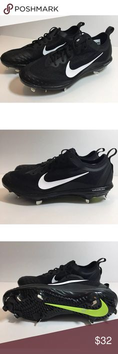 the best attitude 086d5 f655f Nike Hyperdiamond Elite 2 Metal Softball Cleats New Nike Women s  Hyperdiamond Elite 2 Metal Softball Cleat Shoes Black Size 12 Nike Shoes  Athletic Shoes