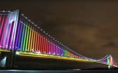 The city's bridges are about to get some extra razzle dazzle. Seven bridges operated by the MTA will soon be covered in blinking, color-changing lights t Bridge Structure, Color Changing Lights, Bridge Design, Razzle Dazzle, City Style, New York City, Bridges, Travel Tips, Nyc