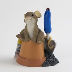 Charming Tails Mouse Figuirne Ready To Grow With Yo by Artist Dean Griff+