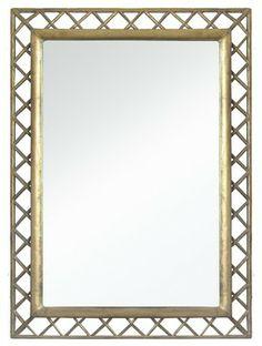 Gold Lattice Mirror traditional mirrors