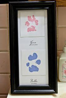 Paw prints :)