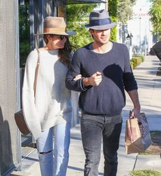 Actress Nikki Reed and her husband Ian Somerhalder was seen out and about in West Hollywood, California on December 19, 2016.  They did some shopping while they were out and about.