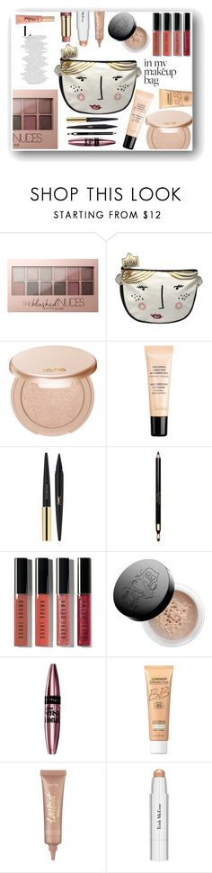 """Make me beautiful"" by lepa-bobi ❤ liked on Polyvore featuring beauty, Maybelline, tarte, Guerlain, Yves Saint Laurent, Clarins, Bobbi Brown Cosmetics, Kat Von D, Miracle Skin Transformer and Trish McEvoy"