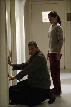 Wentworth Miller and Sarah Wayne Callies