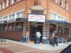 The 'Standin' on the Corner' bar in Winslow, AZ