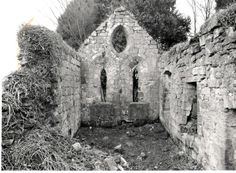 The ruined chapel that stands in the grounds of the House, is a scheduled ancient monument, which is of early Norman Gothic style. The structure is presumably that church that Harvey de Keith raised by decree of King David. There is a 19th c. plaque commemorating this on the chancel gable. WIKIPEDIA