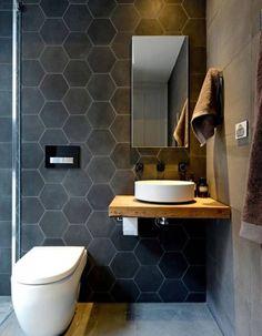 Décorer ses toilettes avec du béton ciré