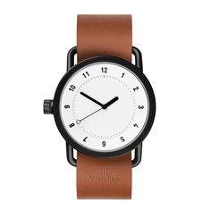 TID No.1 White Tan Leather | TID | TicTacToy.ru - магазин дизайнерских часов